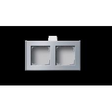 Profile 55 для горизонтальной установки с подводом проводов в середине профиля