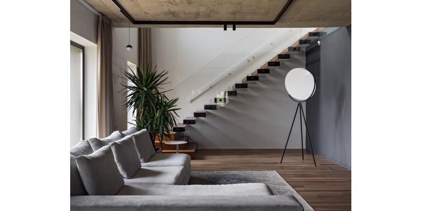 Современный дизайн дома 210 кв.м.
