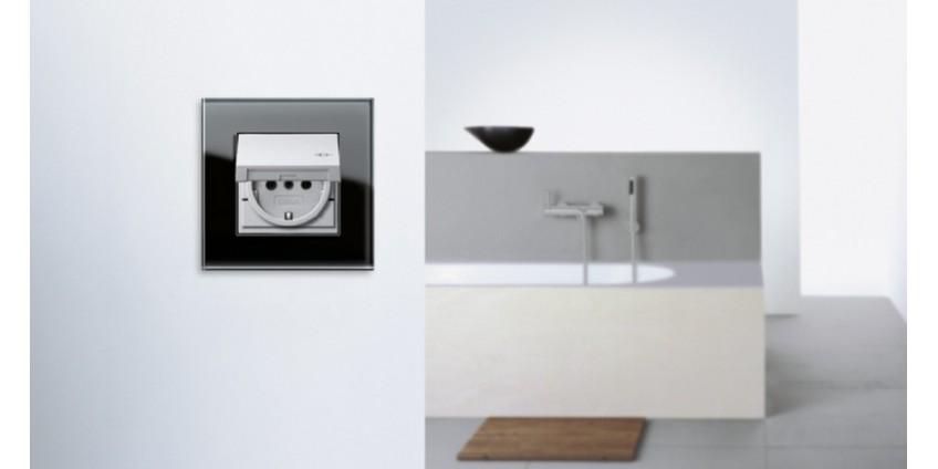 Розетки в ванной комнате