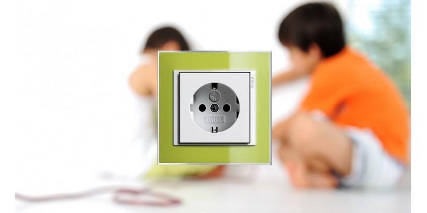 Розетка с защитой от детей - гарантированная безопасность Вашего ребенка!