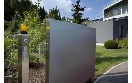 На фото: Управление воротами