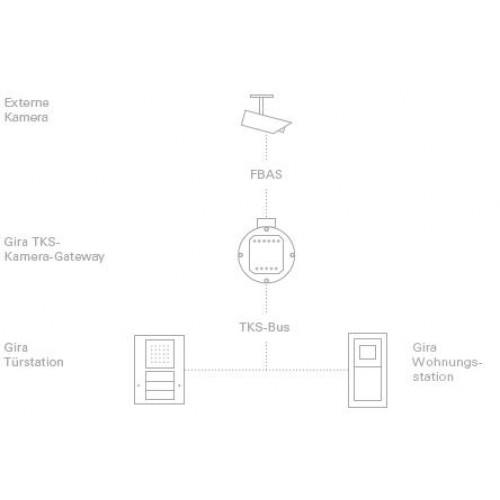 TKS-шлюз камеры домофонной системы
