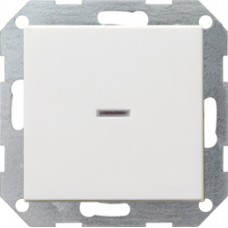 Одноклавишный выключатель с подсветкой